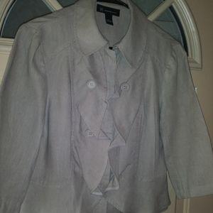 Linen Jacket By INC. Sz.S NWOT